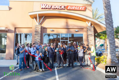 160331 Wayback Burger Ribbon Cutting 0042